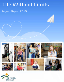 Impact Report - United Cerebral Palsy of Greater Birmingham
