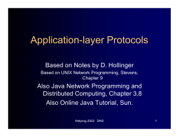 Application-layer Protocols