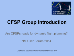 CFSP Group Introduction