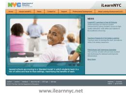 iLearnNYC Single Sign On
