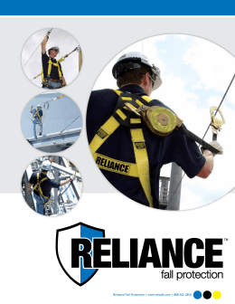 Reliance Fall Protection • www.relsafe.com • 888-362-2826