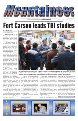 inside - Fort Carson Mountaineer