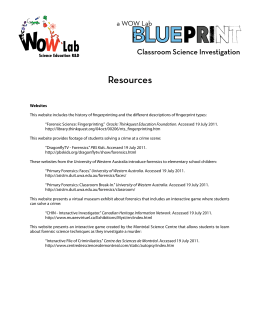 Resources - Welcome to the WOW Lab at McGill University