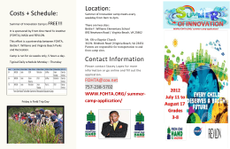 Location: Contact Information Costs + Schedule