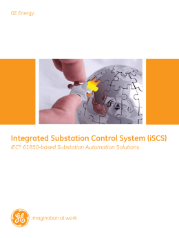 Integrated Substation Control System (iSCS)