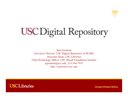 USC Digital Repository - USC Office of Compliance