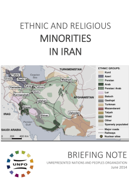 Ethnic And Religious Minorities in Iran