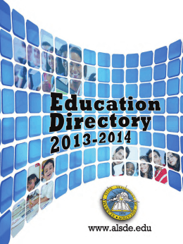 ALSDE Directory - Alabama State Department of Education