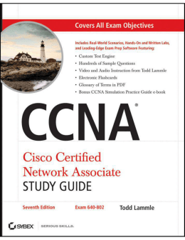 CCNA Cisco Certified Network Associate Study Guide, (Includes CD