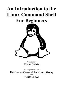 Introduction to the Linux Command Shell For Beginners