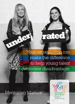 Your organisation can make the difference to help young talent