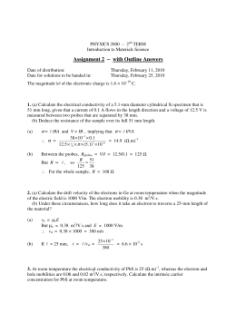 Assignment 2 − with Outline Answers