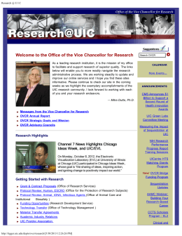 the Office of the Vice - College of Pharmacy | University of Illinois at
