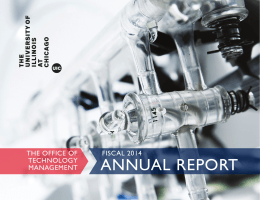 ANNUAL REPORT - UIC Office of Technology Management