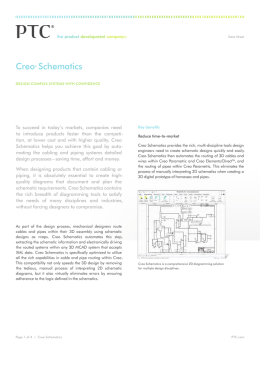 Creo® Schematics - EAC Product Development Solutions