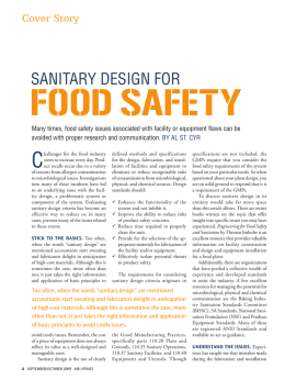 SAnitAry DeSign for