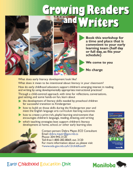 Growing Readers and Writers