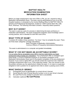 medication test study guide, click here