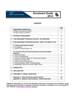 New Enrolment Guide 2014v1