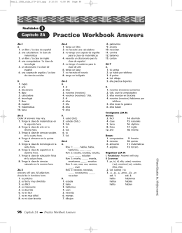 Practice Workbook Answers