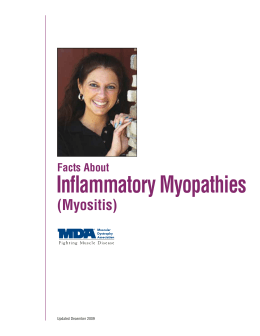 Facts About Inflammatory Myopathies (Myositis)