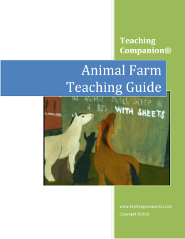 Animal Farm - Teaching Companion