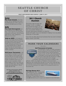 July - Seattle Church of Christ