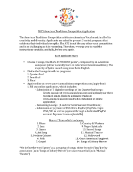 2015 American Traditions Competition Application