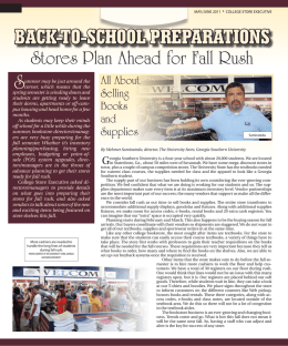 Back-to-School PreParationS - Georgia Southern University