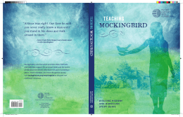 mockingbird - Facing History and Ourselves