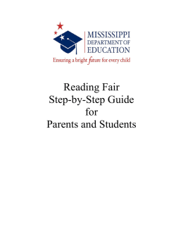 Reading Fair Step-by-Step Guide for Parents and Students