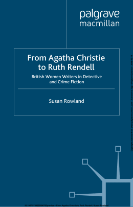 From Agatha Christie to Ruth Rendell