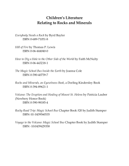 Children`s Literature Relating to Rocks and Minerals
