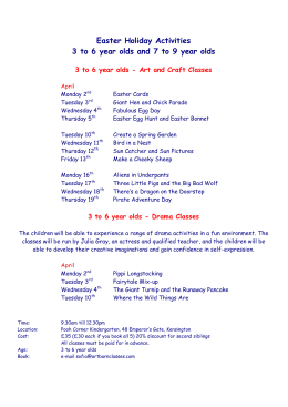 Spring Half-Term - Art Barn Classes