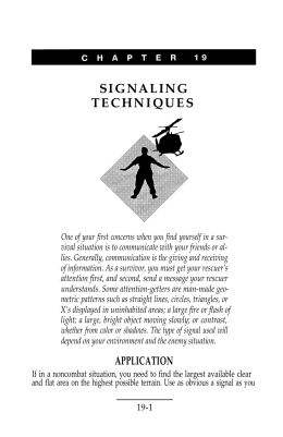 Signaling Techniques - Equipped to Survive