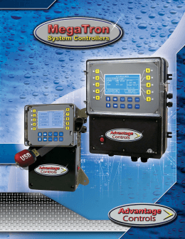 MegaTron Brochure - Advantage Controls