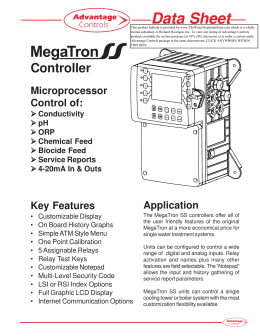 D-MegaTron SS.pmd - Richard Hourigan, Inc