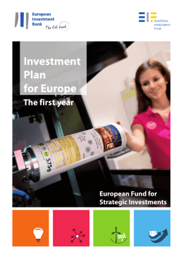 Investment Plan for Europe