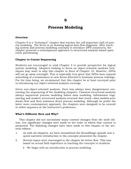9 Process Modeling