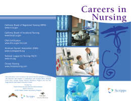 Nursing Careers_v7.indd - Division of Medical Education, School of