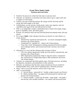 Exam Three Study Guide