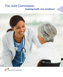 Inspiring health care excellence