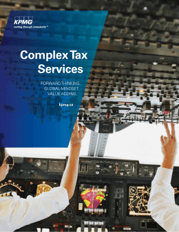 Title here Complex Tax Services