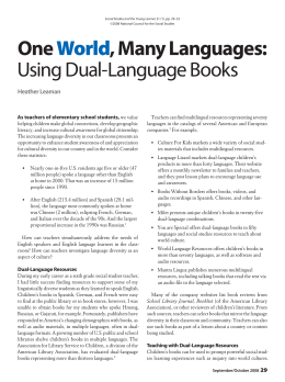 Using Dual-Language Books - National Council for the Social Studies