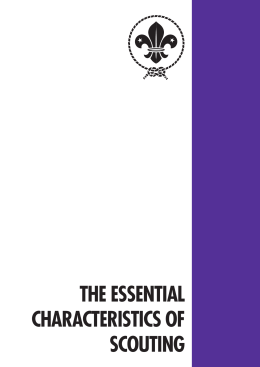 The Essential Characteristics of Scouting