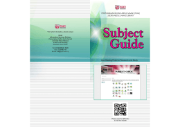 Subject Guide Portal