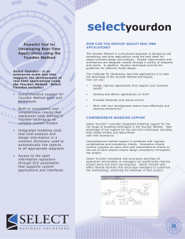 Yourdon (issue 1).qxd - Select Business Solutions