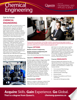 Chemical Engineering - Career Services
