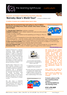 `Barnaby Bear`s World Tour!`– Living in a diverse world the learning