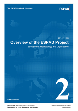 Overview of the ESPAD Project